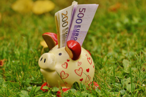 Besparen spaarvarken geld sparen