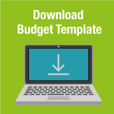 Download budget template banner