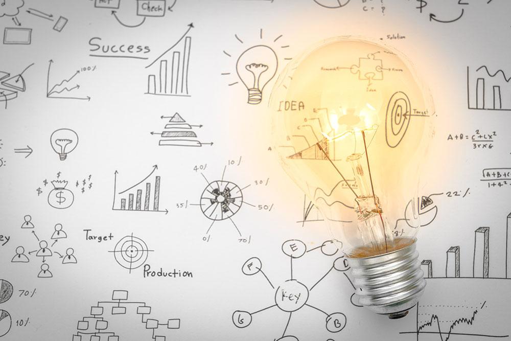 Investering idee lamp
