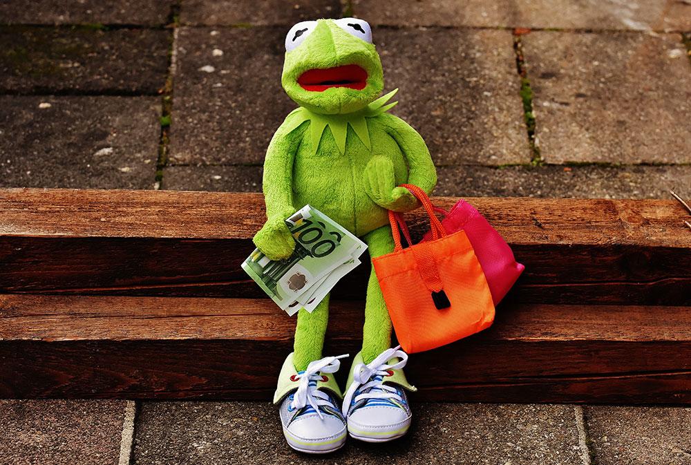 Groen geld shoppen